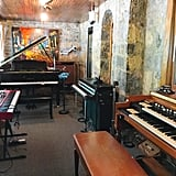 This is the piano room.