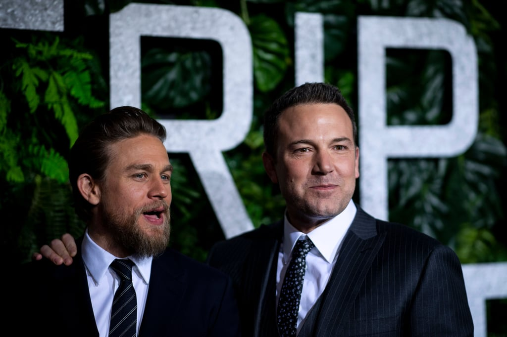 Pictured: Charlie Hunnam and Ben Affleck