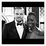 """#GoldenGlobes Checklist: meet #LeonardoDiCaprio and tell him how much I have loved his work since I was 14 - CHECK!"" Source: Instagram user lupitanyongo"