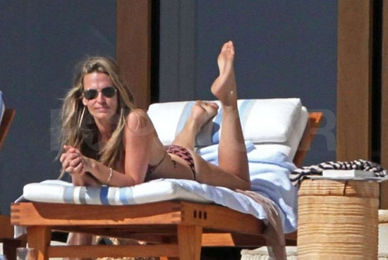 Pictures of Molly Sims Wearing a Bikini in Cabo San Lucas, Mexico
