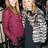 Rachel Zoe and Dasha Zhukova at the Garage pop-up in London.
