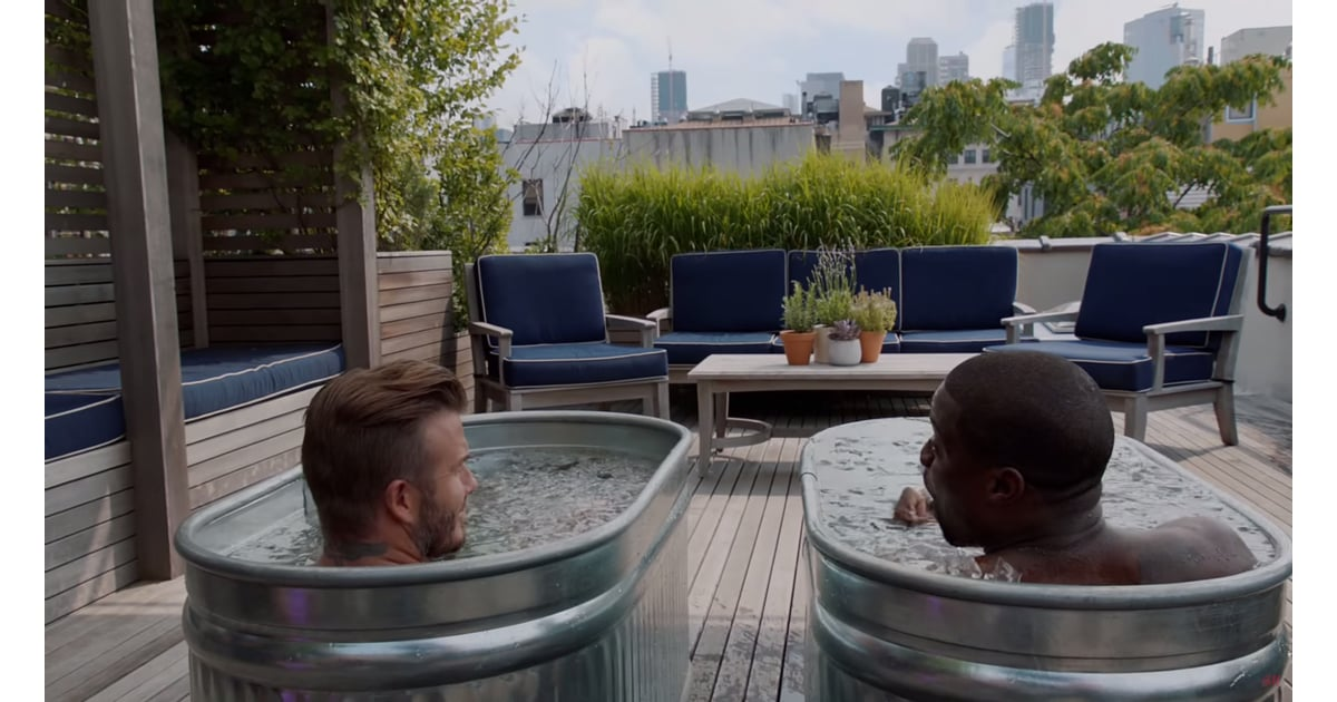 Kevin Hart Commercial >> The rooftop deck features an outdoor living area and views ...