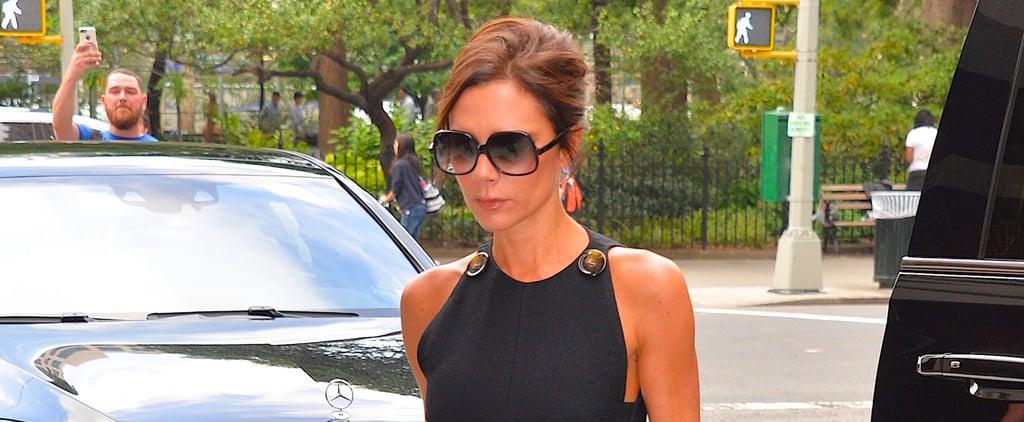 The Striking Transformation of Victoria Beckham's Little Black Dress