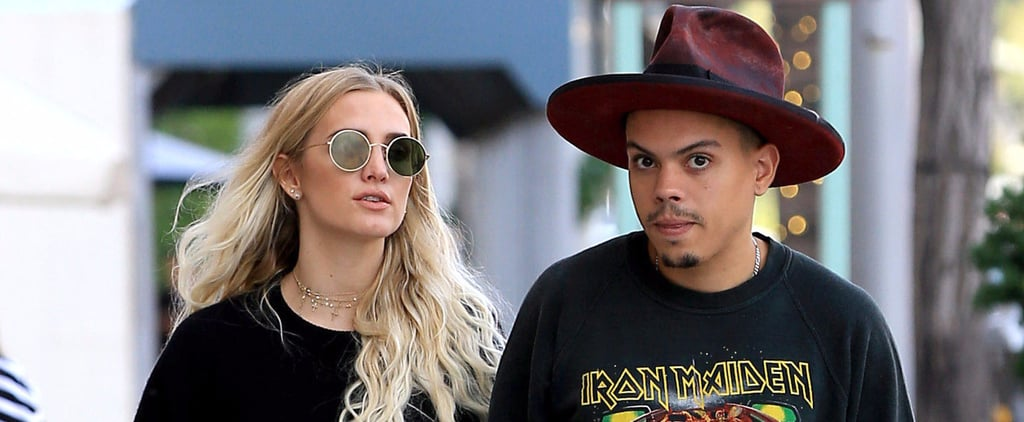 Ashlee Simpson and Evan Ross Hold Hands While Taking Advantage of the Holiday Sales