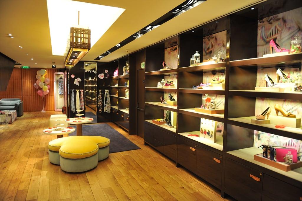 Mulberry Launch Shoe Lounge at London Boutique 2010-03-29 16:30:09