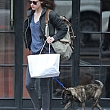 Pictures of Kristen Stewart With Rob's Dog Bear