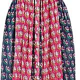 Diane von Furstenberg Nieves Pleated Chiffon Shirt Dress ($498)