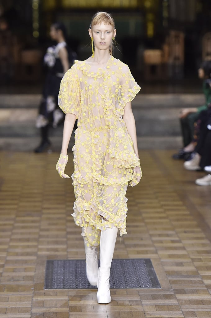 Her Simone Rocha Dress Walked the Spring 2017 Runway
