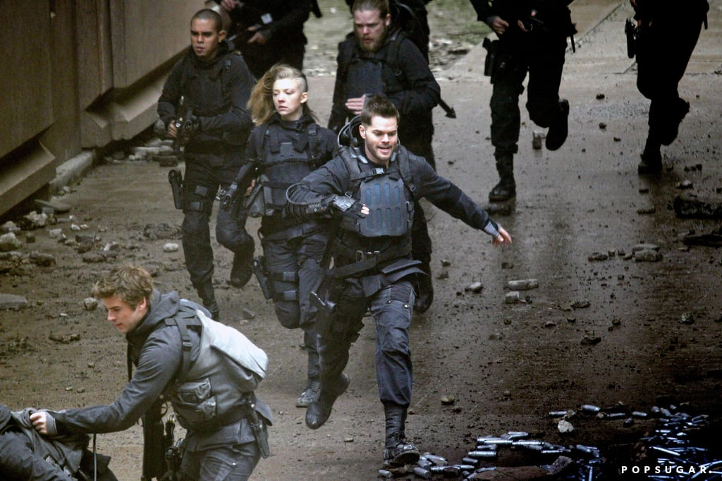 Dormer was on the run with her costars.