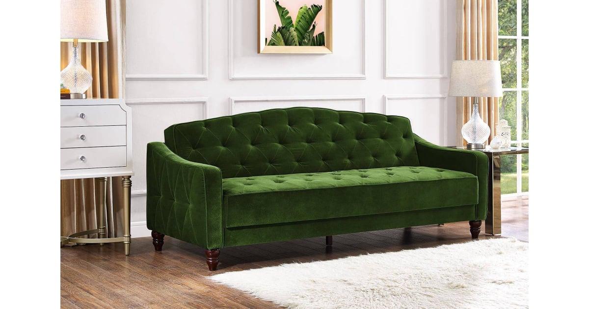 Novogratz Vintage Tufted Sofa Sleeper Ii Best Home