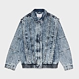 Bershka Studded Denim Jacket