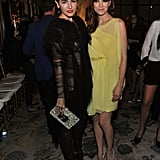 Camilla Belle and Michelle Monaghan at Marchesa.
