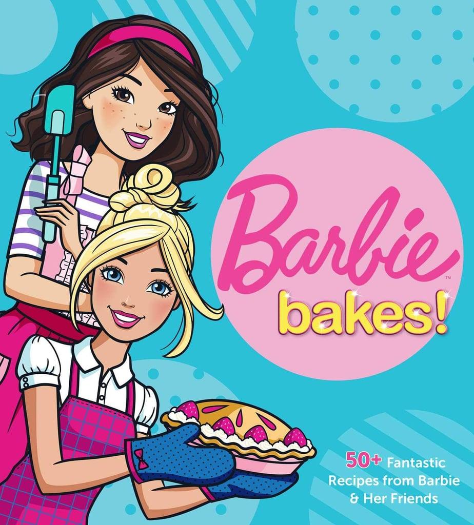 Barbie Bakes Cookbook For Kids