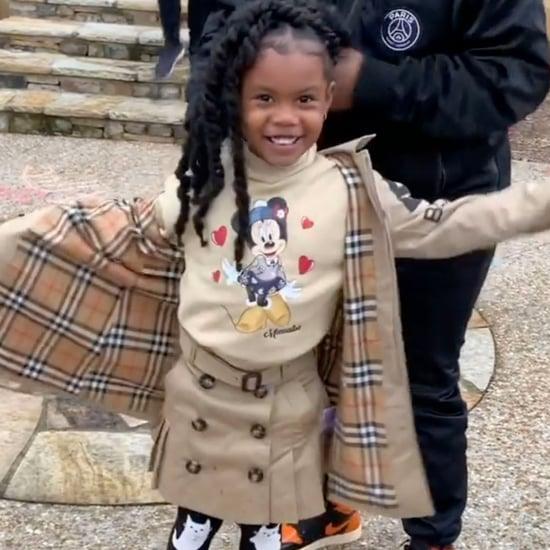 Teyana Taylor's 5-Year-Old Daughter Show Off Runway Walk