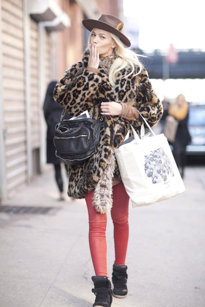 New York Fashion Week Fall 2012 Street Style