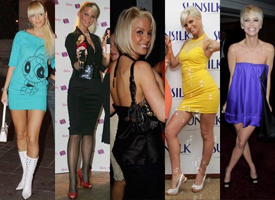 Style Evolution of Sarah Harding