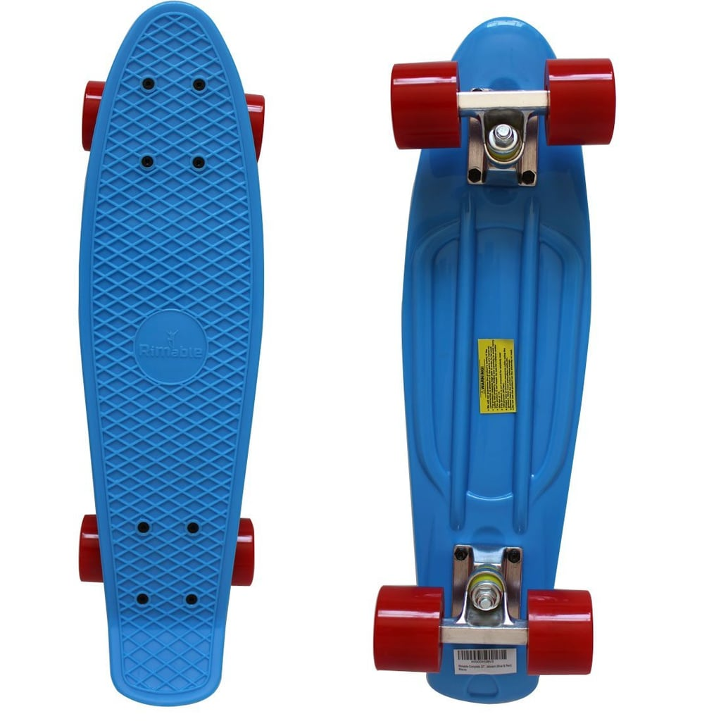 """For 8-Year-Olds: Rimable Complete 22"""" Skateboard"""