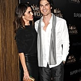Nikki couldn't take her eyes off Ian during a February 2015 event in LA.