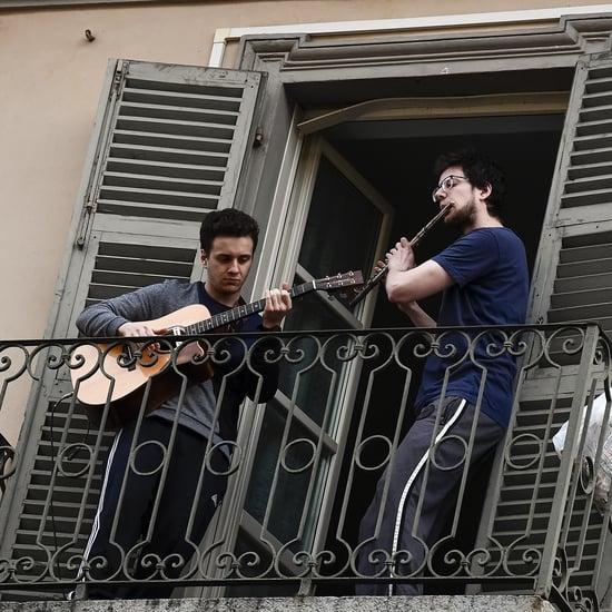 Italians Are Singing During Coronavirus Lockdown | Video