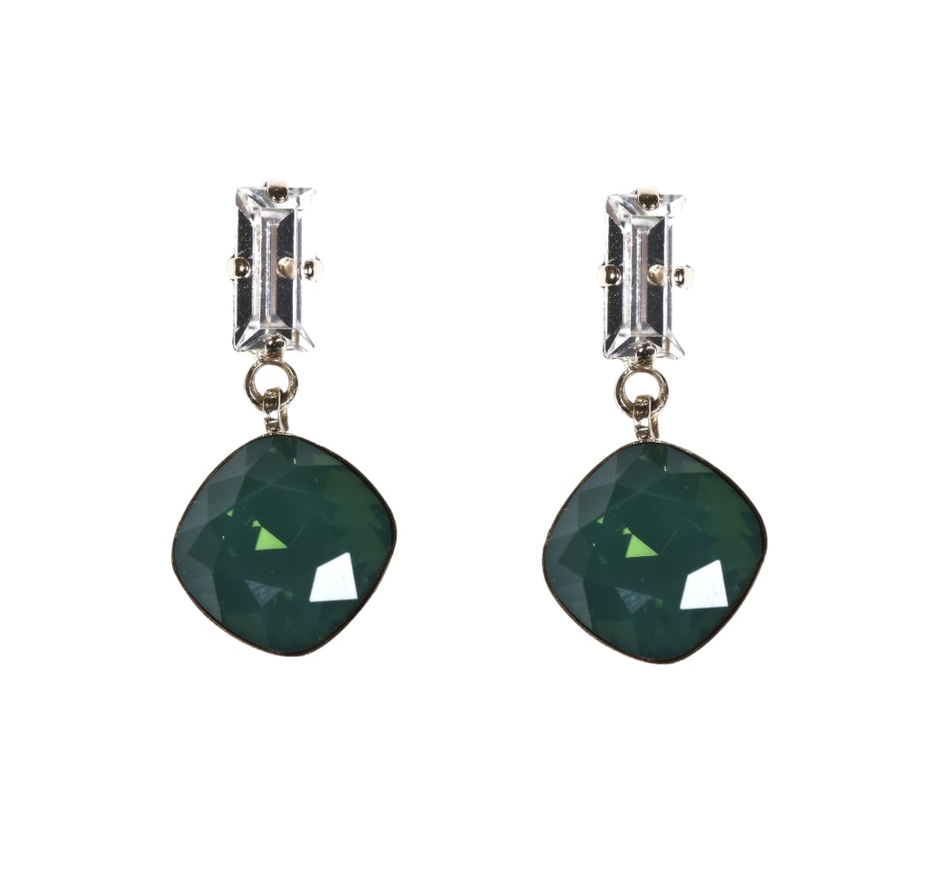 Hélène Zubeldia's Emerald Drop Earrings ($150) are the perfect way to get in on the trend without spending too much.
