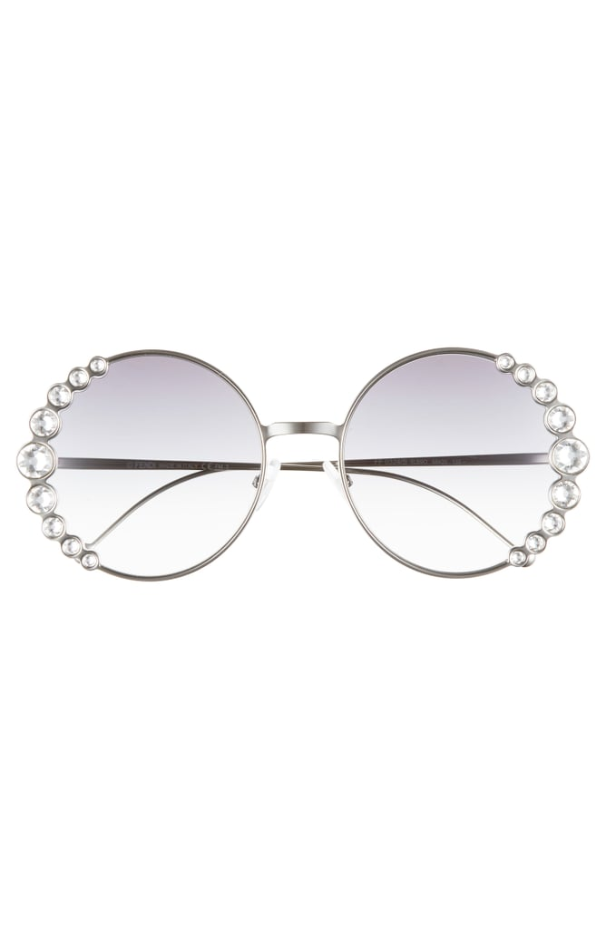 Fendi Crystal Round Sunglasses | Taylor Swift Sunglasses in