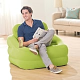 Intex Inflatable Indoor Or Outdoor Accent Chair With Cup Holder