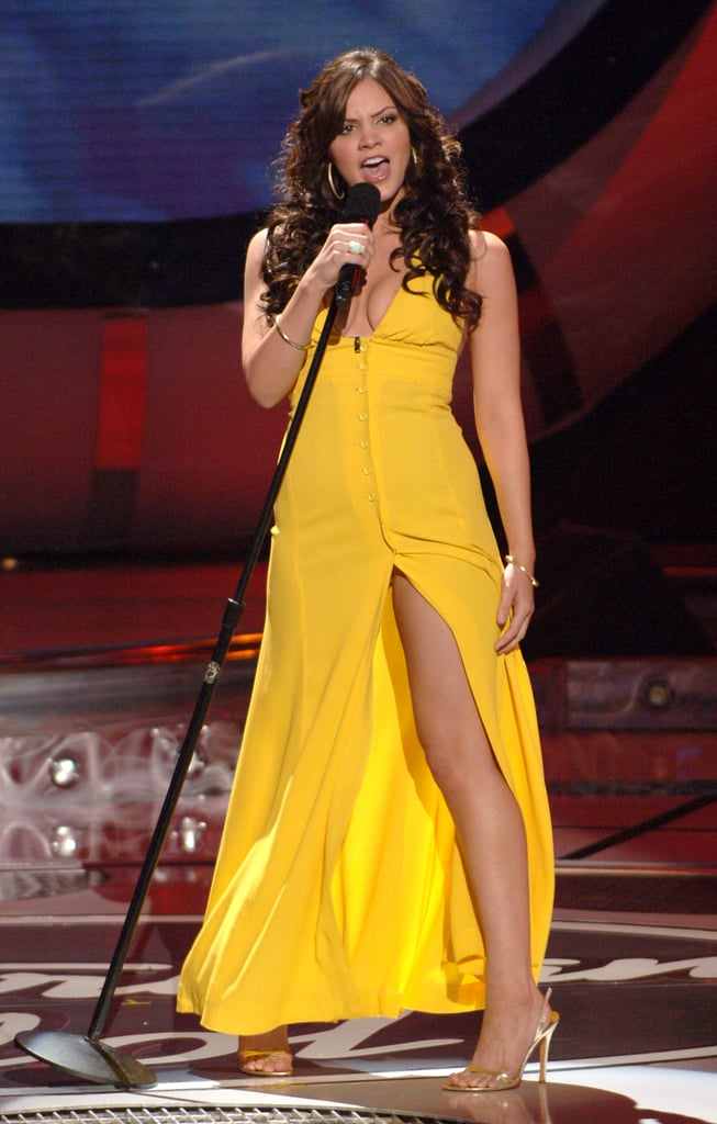 Katharine McPhee on American Idol Season 5 in 2006