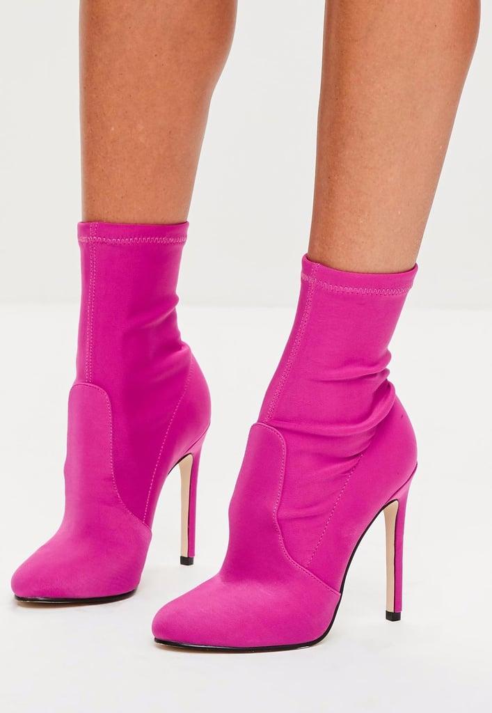 Cheap Sock Boots