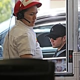 Ryan Phillippe Satisfies His Hunger With In-N-Out Burger