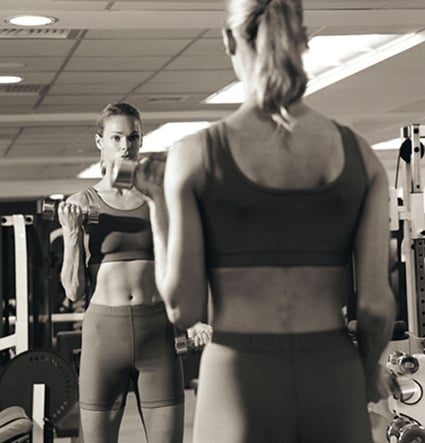Do You Like Working Out in Front of a Mirror?