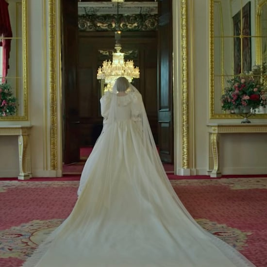 Princess Diana's Wedding Dress in The Crown Season 4 Trailer