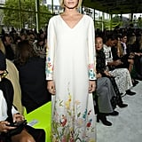 Amber Valletta at the Valentino Paris Fashion Week Show
