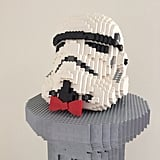 """Fancy Stormtrooper,"" Nathan Sawaya"