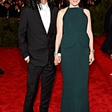 Julianne Moore and Alexander Wang at the Met Gala 2013.