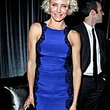 Cameron Diaz made an appearance at the Weinstein Company's Golden Globes after party.