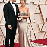Scarlett Johansson's Silver Oscar de la Renta Oscars Dress