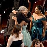 Pictured: Alfonso Cuaron, and Yalitza Aparicio