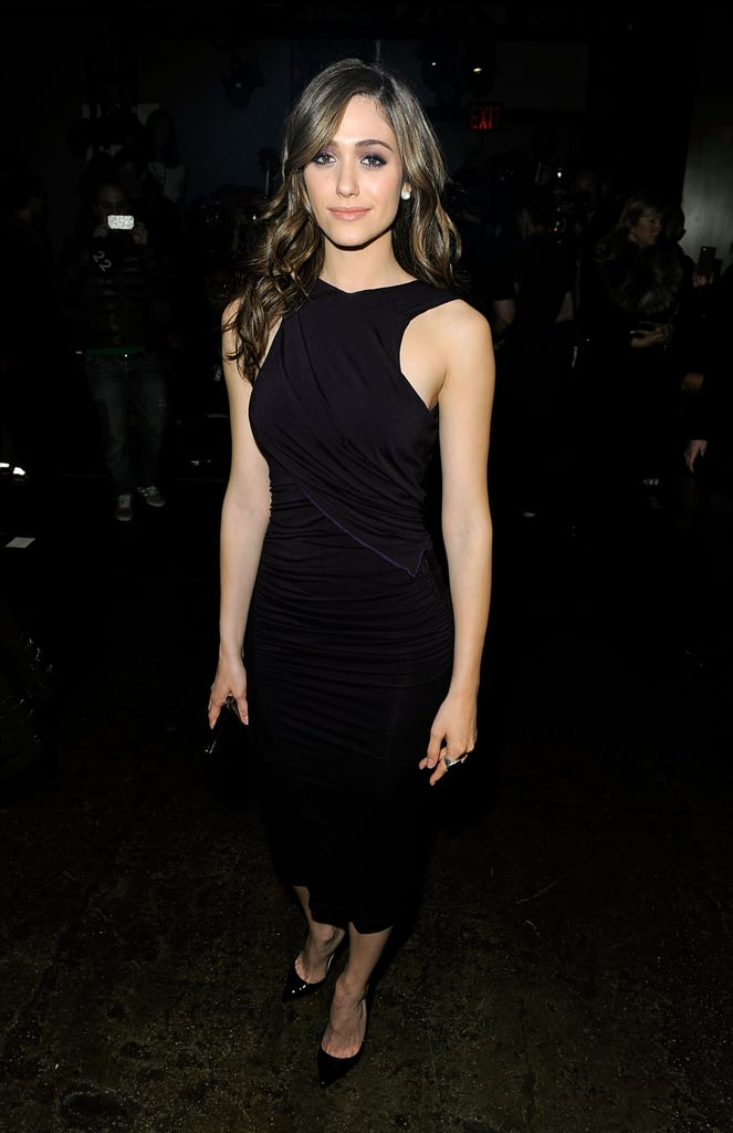 Emmy Rossum at Donna Karan New York