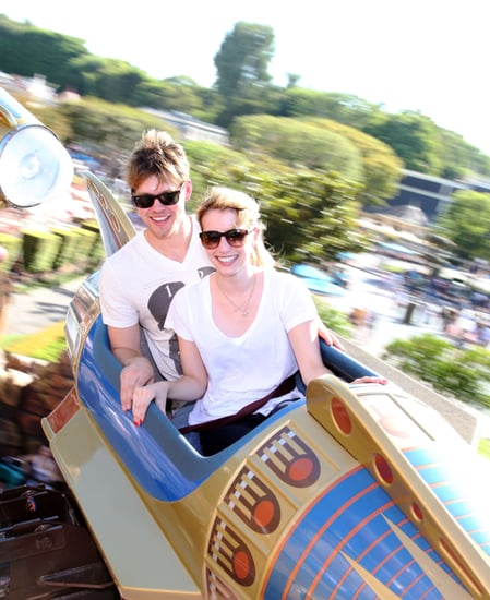 Pictures of Chord Overstreet and Emma Roberts Together at Disneyland on a Date