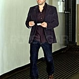 Ben Affleck Goes From Party Mode to Casual Cool in a Flash