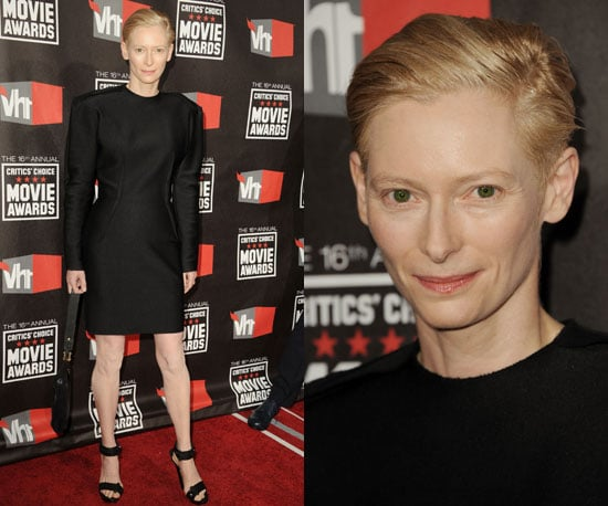 Tilda Swinton at 2011 Critics' Choice Awards 2011-01-14 18:53:37