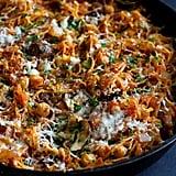 Vegetarian Spaghetti Squash Skillet