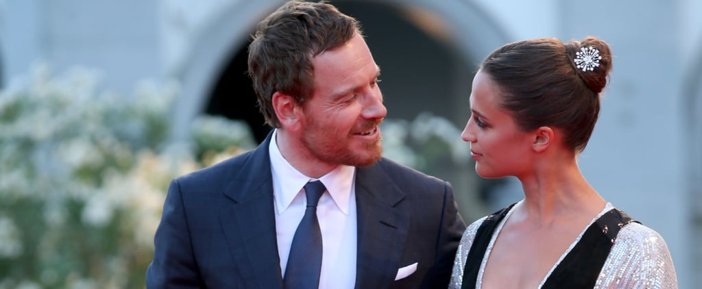 Michael Fassbender and Alicia Vikander Make Their Red Carpet Debut as a Couple