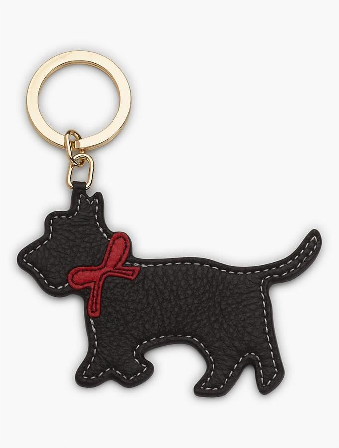Leather Key Fob Scottie Dog ($25)