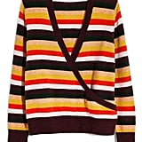 Madewell Wrap-Front Stripe Pullover