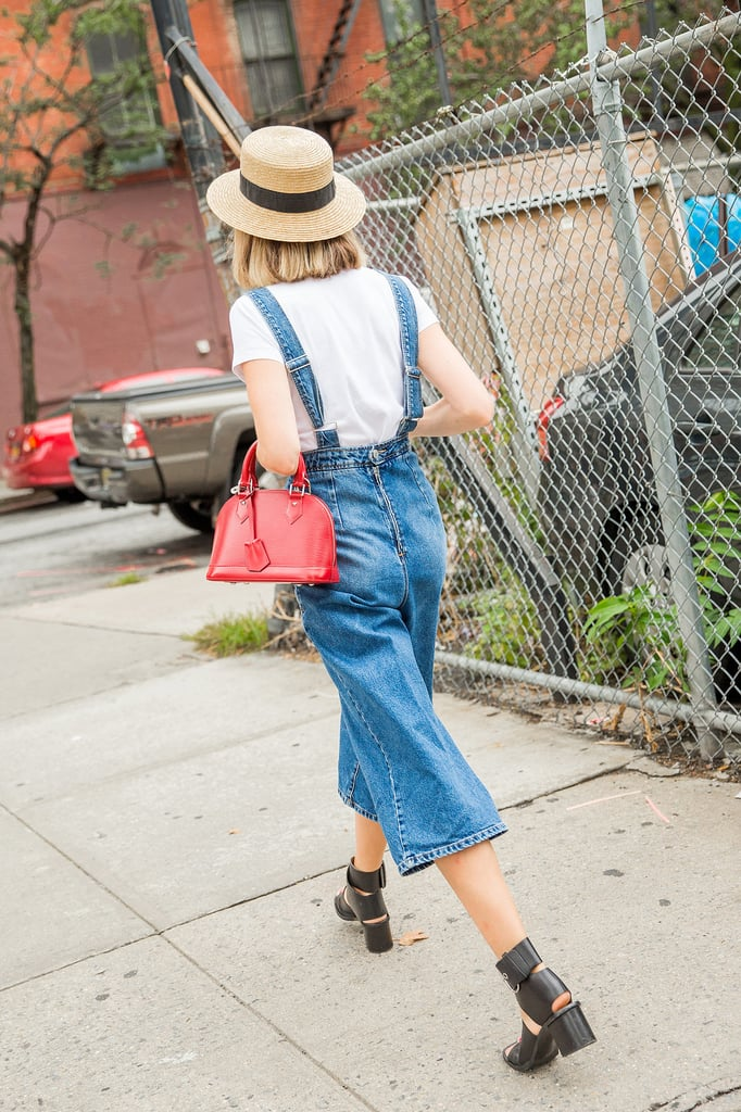 Overalls With Room, Cropped So You Can Show Off Your New Sandals