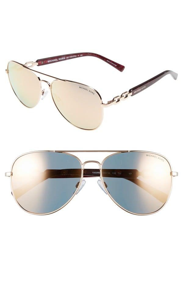 Michael Kors Collection 58mm Aviator Sunglasses ($205)
