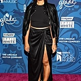Leona Lewis hit the red carpet at the Essence Black Women in Music party.