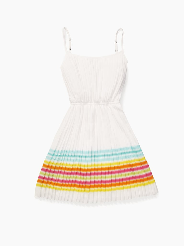 The classic white dress gets brightened up with beach-inspired colors ($190).
