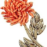 Oscar de la Renta Resin Flower Brooch